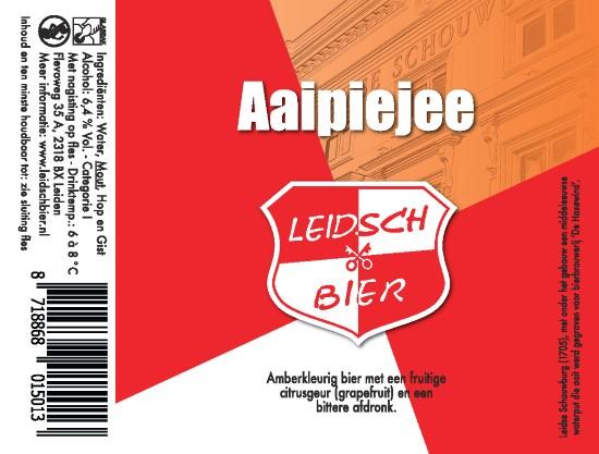 Leidsch Aaipiejee, etiket 2016