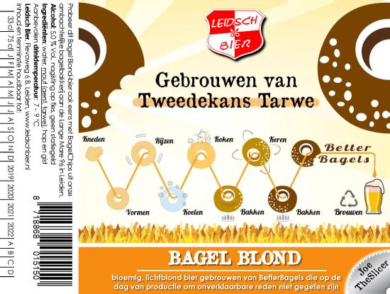 Bagel Blond, etiket 2018
