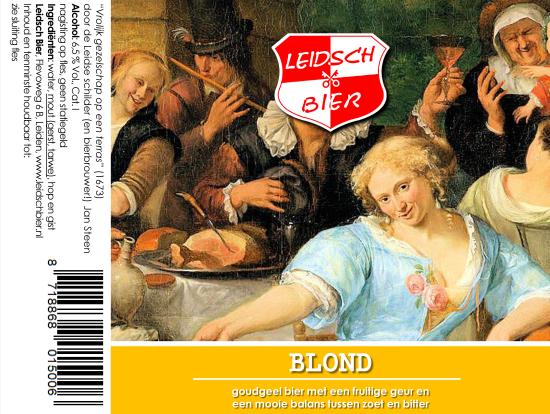 Leidsch Blond, etiket 2018