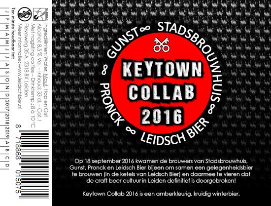 Keytown Collab 2016, etiket 2016