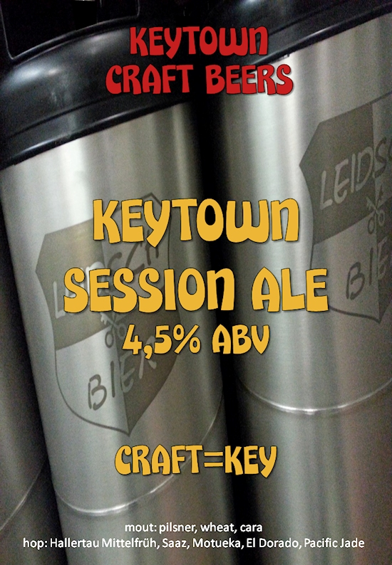 Keytown Session Ale, poster 2015