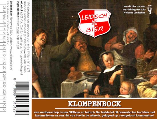 Klompenbock, etiket 2017
