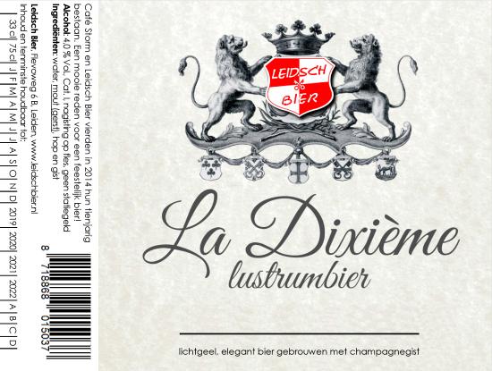 Leidsch La Dixième, etiket 2018