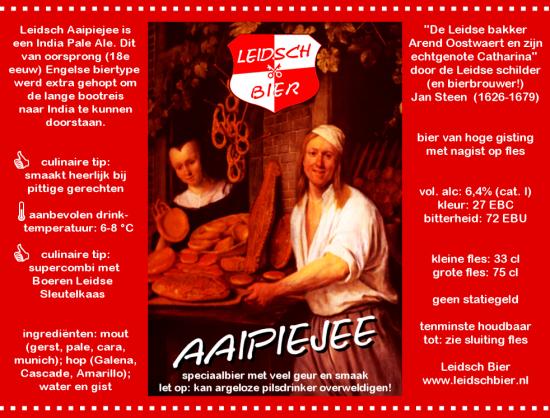 Leidsch Aaipiejee, etiket 2010