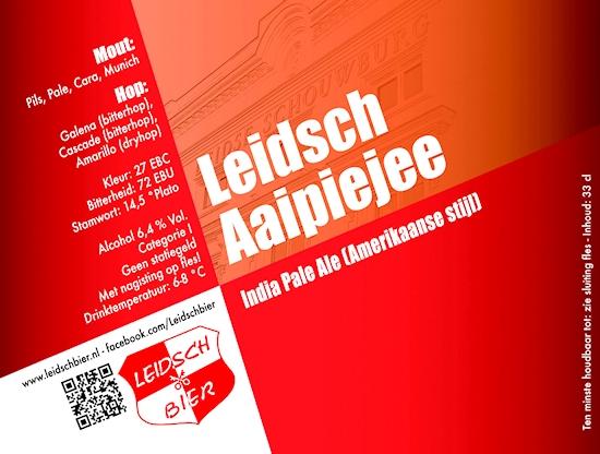 Leidsch Aaipiejee, etiket 2013