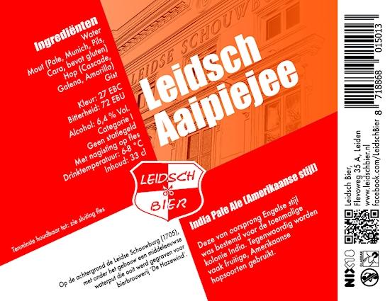 Leidsch Aaipiejee, etiket 2014