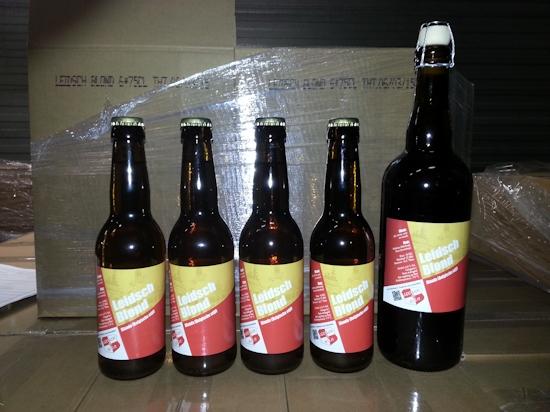 Leidsch Blond, flessen 2013