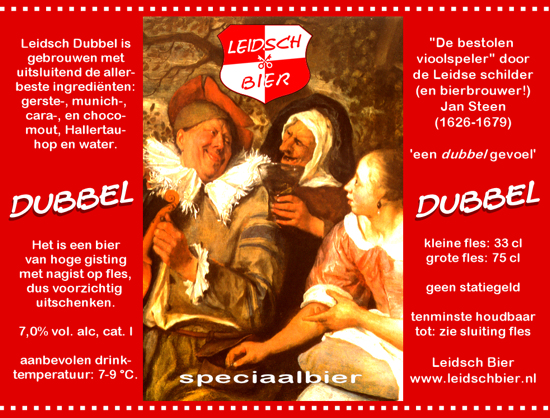 Leidsch Dubbel, etiket 2007