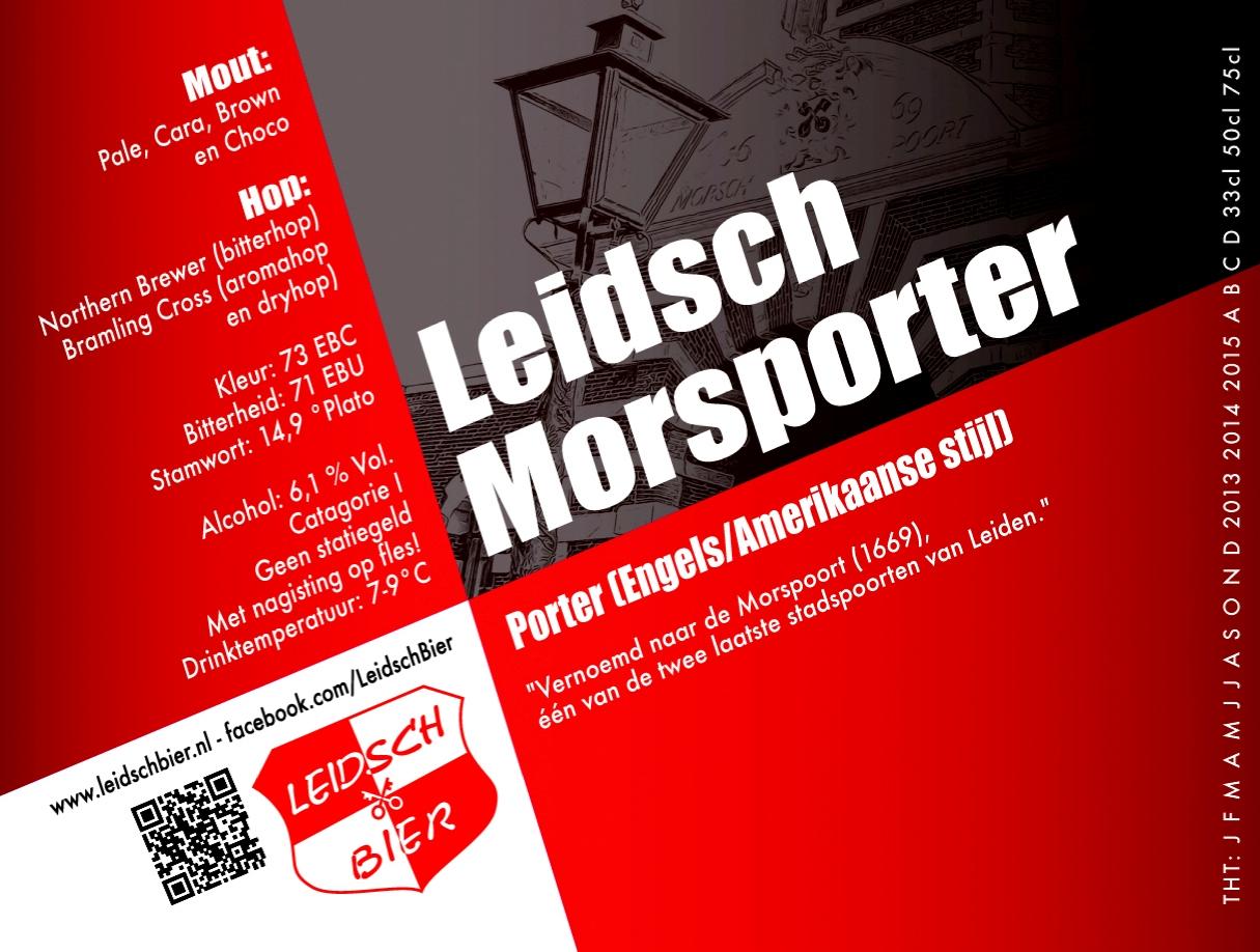 Leidsch Morsporter, etiket 2013