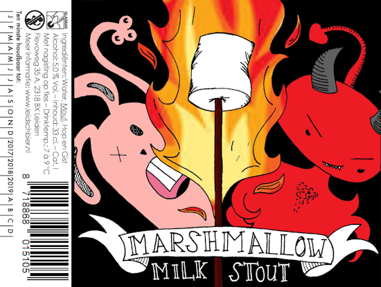 Marshmallow Milk Stout, etiket 2017