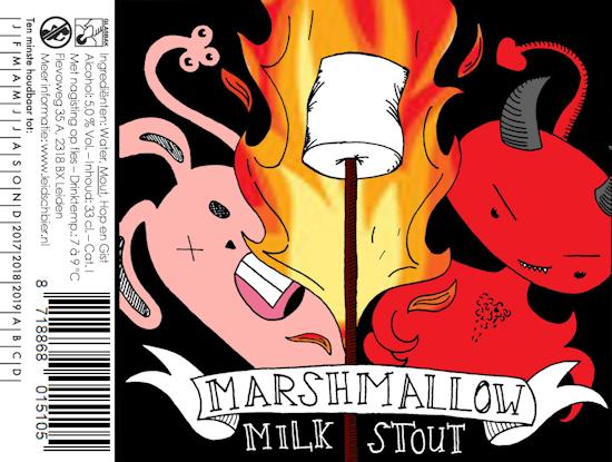 Marshmallow Milk Stout, etiket 2017