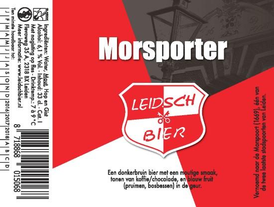 Leidsch Morsporter, etiket 2016