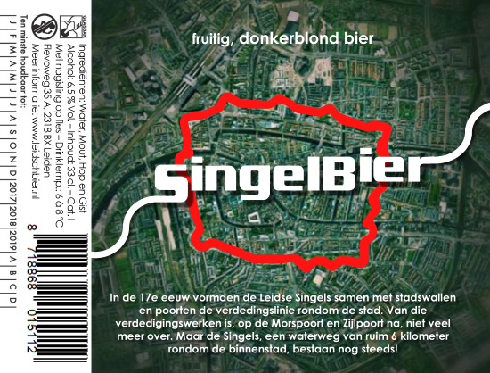 SingelBier, etiket 2017