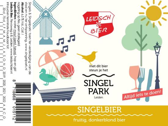 SingelBier, etiket 2018