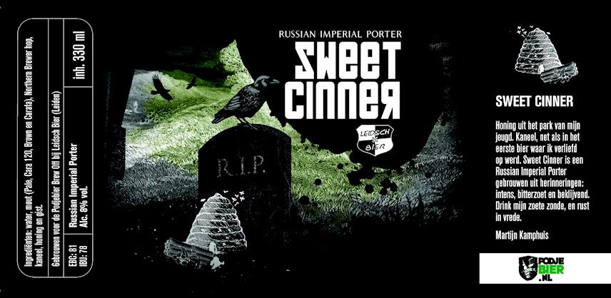 Sweet Cinner, etiket 2014