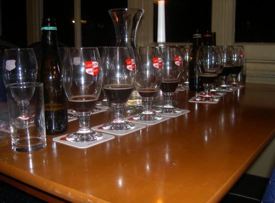 Keuring proefbrouwsels Dubbel, 2007