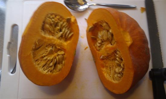 pompoen voor Leidsch Pumpkin Raisin Bock